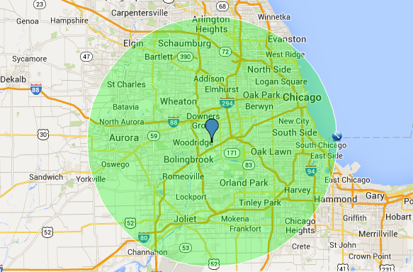 Catering Chicago and Suburbs 25 mile radius on