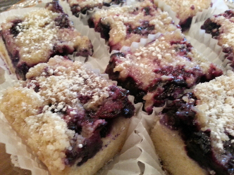 Dessert pageBlueberry Bars